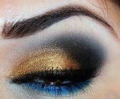 Resultado de imagem para olhos maquiadas