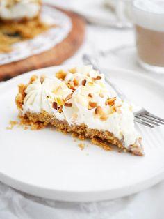 No bake semmelpaj Kitchen Stories, Lchf, Scones, Cheesecake, Food And Drink, Bread, Cookies, Sweet, Desserts
