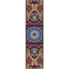 Geometric 30 Peyote Bead Pattern, Bracelet Cuff, Bookmark, Seed Beading Pattern…