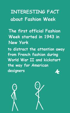 10 Best Interesting Facts About Fashion Images Fun Facts Facts Fashion