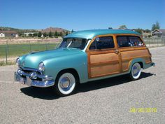 1951 Ford Woody Woodie Wagon