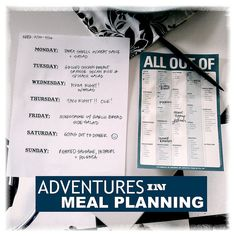 tracy's post about meal planning. this seems like a really important thing to do--while it might feel sexier to be spontaneous and run to the grocery when you want something, it actually saves money and wastes less food to plan. and you totally don't have to stick hard to your plan. tips include note what produce etc needs to be used right away and plan accordingly, and think about which days need to be easy and which days you can have fun