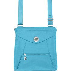 #FabricHandbags, #Handbags - baggallini Lyon Crossbody Dolphin - baggallini Fabric Handbags
