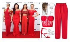 """Little Mix 5th Member Glamour Awards 2015"" by ceroberts-24 on Polyvore featuring Alexander McQueen, Miss Selfridge, New Look, Swarovski, Cartier and Bloomingdale's"