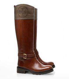 Daniela Mid Heel Boot | Womens Boots & Booties | ToryBurch.com