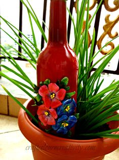 Wine Bottle decoration Decor Crafts, Creativity, Passion, Wine, Decoration, Bottle, Blog, Decor, Flask
