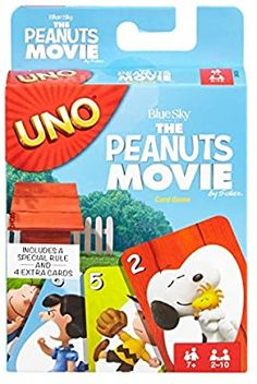 Amazon.com: UNO: The Peanuts Movie - Card Game: Toys & Games Birthday Presents For Boys, Christmas Gifts For Boys, Uno Card Game, Uno Cards, Fun Board Games, Games To Play, Peanuts Movie, Peanuts Gang, Peanuts Characters