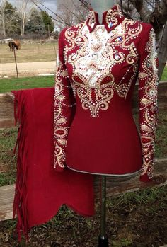 . Western Show Shirts, Western Show Clothes, Horse Show Clothes, Equestrian Outfits, Western Outfits, Western Wear, Chemises Country, Cognac Riding Boots, Showmanship Jacket