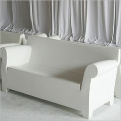Big Bench    Molded White Plastic Bench. The Rotational Style Is Perfect  For Outdoors | Summer Inspirations | Pinterest | Level 3, Creative And The  Ou0027jays