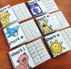CVC Adapted Books for kindergarten, preschool, or special education!