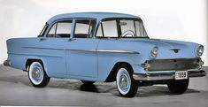 1960 Vauxhall Victor 4 Door Sedan. Funny how much it looks like a Chevy Bel-Air