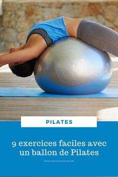 Exercices Swiss Ball, Swiss Ball Exercises, Joseph Pilates, Gym Video, Body Challenge, Yoga Gym, Poses, Excercise, Workout