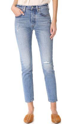 Levi's Women's 501 Skinny Jeans, Post Modern Blues, 24
