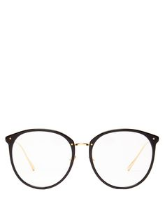 Glasses Frames Trendy, Fake Glasses, Cool Glasses, Circle Glasses, Glasses Trends, Fashion Eye Glasses, Linda Farrow, Eyeglasses, Elegant Woman