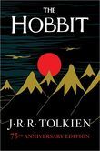 The Hobbit by J. R. R. Tolkien.  Similar titles include Dune by Frank Herbert, Small Persons With Wings by Ellen Booraem, Thorn Ogres of Hagwood by Robin Jarvis, The Sea of Trolls by Nancy Farmer, The Golden Compass by Philip Pullman, The Book of Three by Lloyd Alexander, and The Dark is Rising by Susan Cooper.