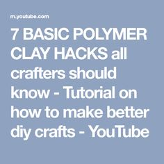69 Beste polymer clay tutorials images on Pinterest in  2018   in Polymer   00f040