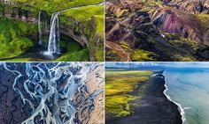 Photographer's breathtaking images of Iceland while flying in a Cessna #DailyMail
