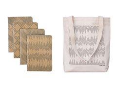 Pawling Print Studio Scout Books Pattern Textile Print Tote