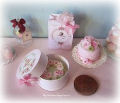 Pink Miniature Sweets