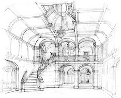 Yes, in my dreams.  I like the staircase  Fusch Architects | Architects & Planners » Renderings