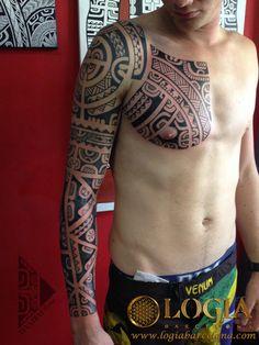 Φ Artist TEVAIRAI Φ Info & Citas: (+34) 93 2506168 - Email: Info@logiabarcelona.com www.logiabarcelona.com #logiabarcelona #logiatattoo #tatuajes #tattoo #tattooink #tattoolife #tattoospain #tattooworld #tattoobarcelona #tattooistartmag #tattoosenbarcelona#tattoos_of_instagram #ink #arttattoo #artisttattoo #inked #inktattoo #tattoocolor #hombro #pecho #tattooartwork #maoritattoo