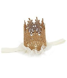 Starting Out Baby Girls Crown Headband