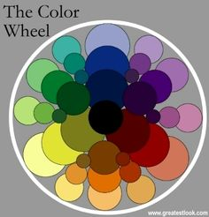 Color Wheel | ... wear colors that are complimentary on the color wheel that means that