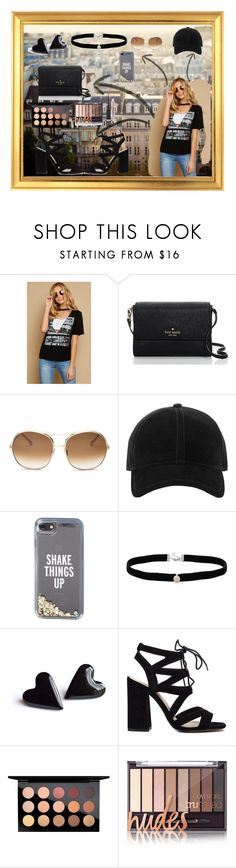 """""""Fashion Street Painting"""" by chayanit-ear ❤ liked on Polyvore featuring Kate Spade, Chloé, rag & bone, Amanda Rose Collection, MAC Cosmetics and Burberry"""