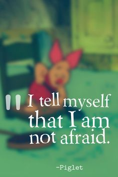 """"""" --Piglet, Winnie the Pooh Cute Winnie The Pooh, Winnie The Pooh Quotes, Winnie The Pooh Friends, Piglet Quotes, True Quotes, Funny Quotes, Pomes, Disney And More, Pooh Bear"""