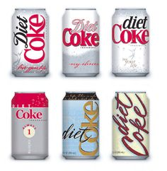 diet coke can concepts