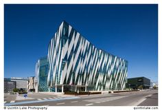 Saxo Bank Headquarters by Architects 3XN,Copenhagen, Denmark.Built: 2009. The building is next to Horten HQ by the same architects. Click Here for More from this Photoshoot >> All images av...