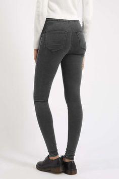 MOTO Dark Grey Joni Jeans - Topshop