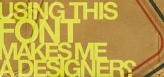 40 Free Stylish Retro Fonts for Designers - I like the ? at the end of the cover graphic...I can relate.