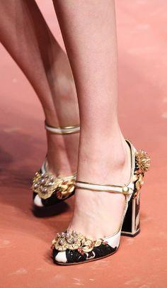 Tendencias: Los mejores zapatos en la pasarela FW15 de Dolce & Gabbana