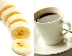 """Before exercising: Banana with a cup of coffee or tea   The truth is, if you're exercising moderately for less than an hour, you really don't need to """"fuel up"""" with extra food for the workout — especially if you're exercising in an effort to lose weight. But if you feel more energized when you've eaten beforehand, I suggest having something small, like a piece of fruit. A banana makes the perfect pre-workout snack because it's easy to digest and provides a good amount of potassium, an ele..."""