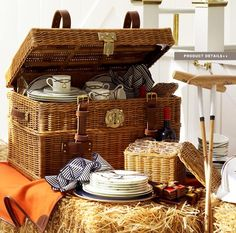 Ralph Lauren Home #Modern_Equestrian Collection 4 - Picnic Basquet