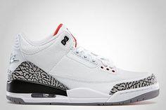 Air Jordan III '88 Retro White/Fire Red-Cement Grey-Black 580775-160 $119.99 http://www.newjordanstores.com/