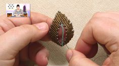 Video - Jill Wiseman continues her series on Russian Leaves: Filling in the Center of a Russian Leaf - #Seed #Bead #Tutorials