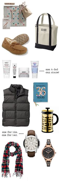 gift guide // for the parents.