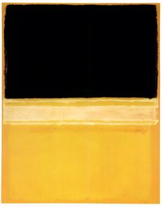 Snake Ranch | dailyrothko:   Mark Rothko, Untitled (Black, Pink,...