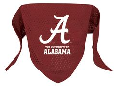 Alabama Crimson Tide NCAA Licensed Dog Bandana