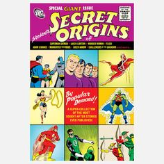 DC Universe: Secret Origins, $29, now featured on Fab.