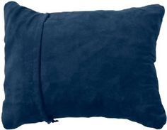 Thermarest Compressible Pillow. An ultra-soft expandable pillow created for everyone from Trekkers to Car Campers seeking portable comfort.