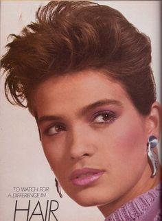 Gia Carangi by Irving Penn - Vogue, January 1980.
