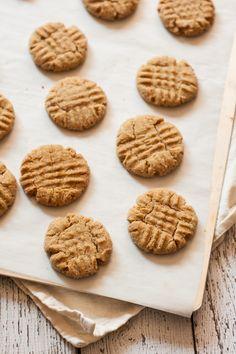 The Best Vegan Peanut Butter Cookie Recipe from mycaliforniaroots.com, a vegetarian food blog.