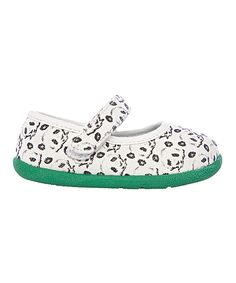 Another great find on #zulily! Zooligans White & Fern Panda Bamboo Panda Mary Jane by Zooligans #zulilyfinds