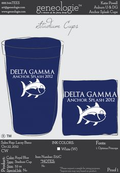 Anchor Splash is Delta Gamma's biggest philanthropy event. It benefits Service for Sight.
