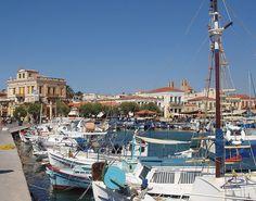GREECE CHANNEL | Aigina - Greece: pretty and colourful