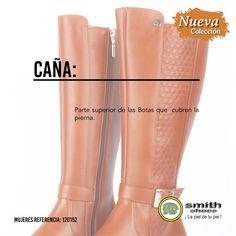 Caña: Parte superior de las Botas que  cubren la pierna. Riding Boots, Shoes, Fashion, Smooth Leather, Knee Boots, Shoe Tree, Grey Hair, Legs, Footwear