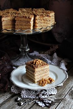 Suddenly I'm 12 years old and in the basement of my Hungarian Reformed Church. there was a touch of coffee, caramel, oh my Hungarian Desserts, Hungarian Cake, Hungarian Recipes, Fun Desserts, Dessert Recipes, Rustic Food Photography, Slovak Recipes, Cake Bars, Sweet And Salty